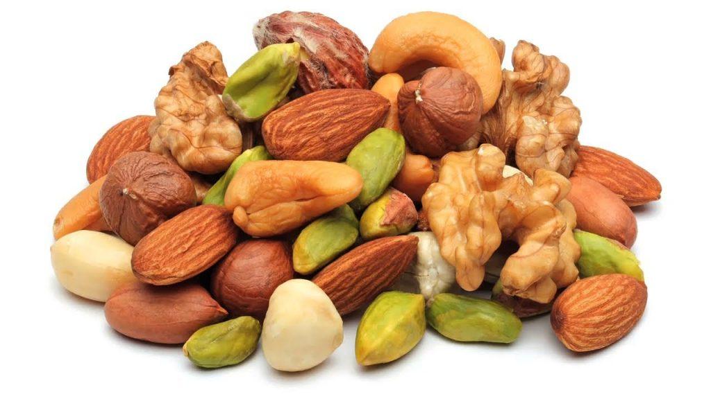 noten en zaden - spijsvertering