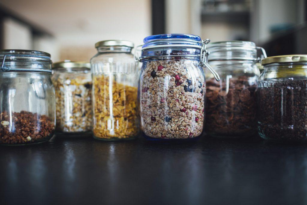 Muesli propvol met gezonde zaden